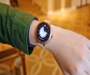 Kate Spade تقدم ساعة أندرويد ذكية أنيقة #CES2018