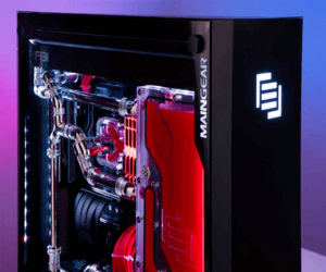 Maingear تطلق جهاز F131 المخصص للألعاب بنظام تبريد سائل #...