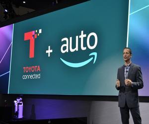 سيارات تويوتا ولكزس ستضيف المساعد الصوتي Alexa هذا العام