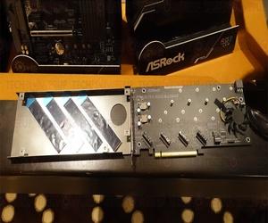 معرض CES2018: ركب 4 أقراص M.2 SSD مع بطاقة ASRock Ultra Q...