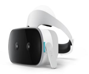 لينوفو وقوقل تكشفان عن أول نظارة واقع افتراضي مستقلة بذاتها