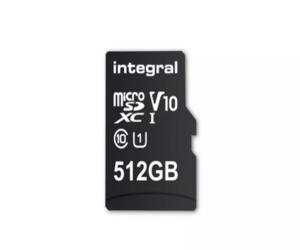 Integral تقدم أكبر ذاكرة microSD بسعة 512 جيجابايت