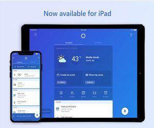 المساعد الرقمي Cortana أصبح أخيرًا يدعم لوحيات iPad بشكل ...