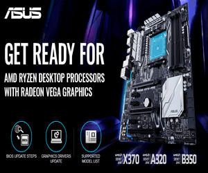 رسمياً ASUS تدعم معالجات AMD Ryzen 2000 APU مع لوحاتها ال...