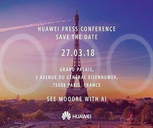 هواوي تشوق لحدث بتاريخ 27 مارس