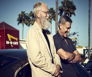 الممثل George Clooney ضيف برنامج David Letterman على Netflix