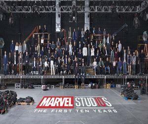 استديوهات Marvel تحتفل بالذكرى العاشرة مع صورة لكافة نجوم...