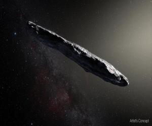 الكويكب الذي دخل نظامنا الشمسي له ماض