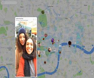 سناب شات تتيح امكانية تصفح Snap Map على الويب