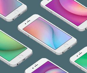 خلفيات مُميّزة لهاتف iPhone من فريق التصميم في فيسبوك