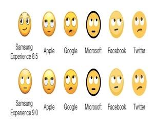 سامسونج قامت بإعادة تصميم الوجوه التعبيرية Emoji في أندرو...