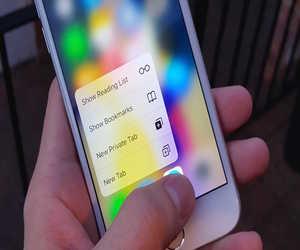 حيل ونصائح لاستخدام خاصية 3D Touch مع سفاري