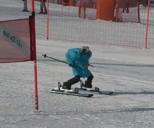 فيديو : روبوتات بلا رأس تتنافس على الأفضل في رياضة التزلج