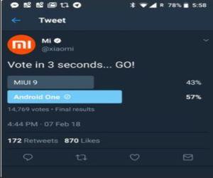 Xiaomi تحذف استطلاع على واجهة المستخدم الأفضل من حسابها ع...