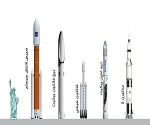 صواريخ الفضاء العملاقة.. ما قوتها؟