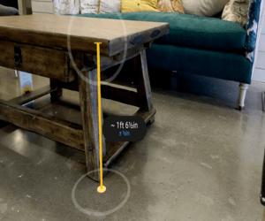 تطبيقMeasure من قوقل يستخدم الواقع المعزز لقياس الأ...