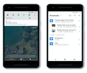 متصفح Chrome للأندرويد سيقوم بتحميل المقالات والأخبار تلق...
