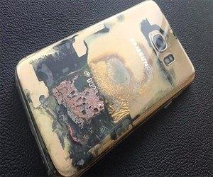 سامسونج لا تزال تعاني من مشكلة إحتراق هواتفها الذكية