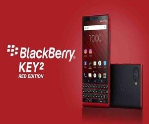 الإعلان رسميًا عن الهاتف BlackBerry KEY2 Red Edition...