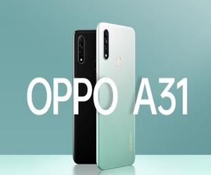الإعلان رسميًا عن الهاتف Oppo A31 مع شاشة بحجم 6.5 إنش، و...