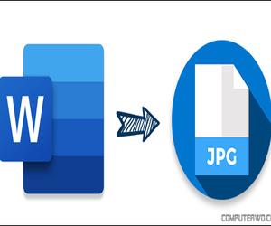 كيفية تحويل مستند الوورد إلى صيغة JPEG