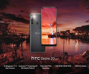 HTC تزيح الستار رسميًا عن الهاتفين HTC Desire 20 Pro...
