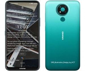 الهاتف Nokia 3.4 يظهر في صور رسمية مسربة جديدة، وسيض...