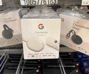 Google Chromecast الجديد يصل إلى المتاجر قبل الإعلان...