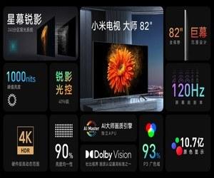 Xiaomi 82″ Mi TV Master هو أول تلفاز MiniLED ف...