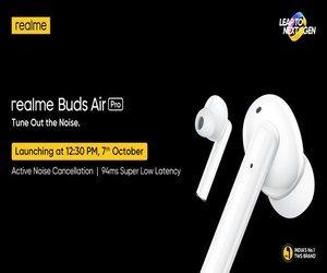 Realme تُشوق لقدوم السماعتين Realme Buds Air Pro و R...