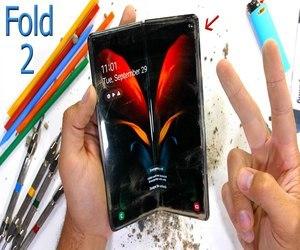 Galaxy Z Fold 2 القابل للطي يخضع لاختبارات متانة عنيفة