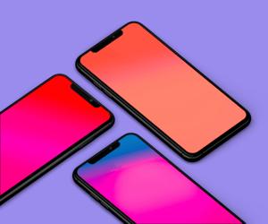خلفيات بتدرجات لونيّة مميزة لهاتف iPhone