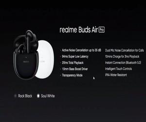 الإعلان رسميًا عن سماعات Realme Buds Air Pro مع تقني...