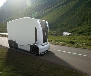 AET .. مركبة بدون سائق للنقل المستقل للبضائع