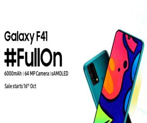 سامسونج تعلن رسميًا عن هاتفها الأحدث Galaxy F41