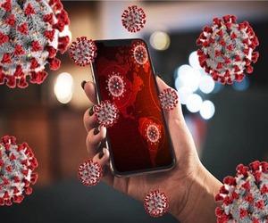كورونا ينتقل عبر شاشات الهواتف لمدة 28 يومًا