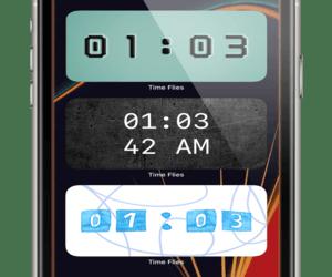 تحديث تطبيق الساعة الناطقة – Time Flies
