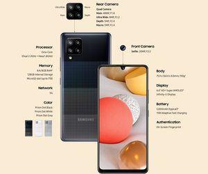 سامسونج تعلن عن أرخص هاتف ذكي يدعم شبكات الجيل الخامس