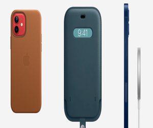حافظات iPhone 12 الجلدية من آبل قادمة في نوفمبر، ومح...