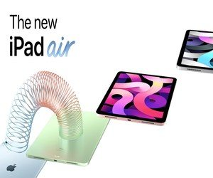 آبل تُروّج لتصميم iPad Air بفيديو إعلاني جديد