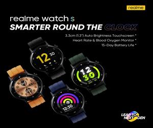 Realme تستعد للإعلان الرسمي عن ساعة Realme Watch S ف...