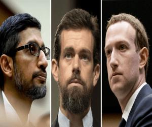رؤساء فيسبوك وتويتر وجوجل سيدافعون عن القانون الذي ي...