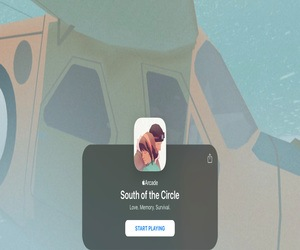 لعبة South of the Circle .. أحدث ألعاب Apple Arcade