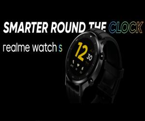 ريلمي تعلن عن ساعتها الذكية Realme Watch S