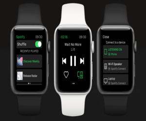 سبوتيفاي تتيح لك بث الأغاني من Apple Watch