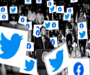 فيسبوك وتويتر يعملان للحد من مزاعم ترامب الكاذبة بشأ...