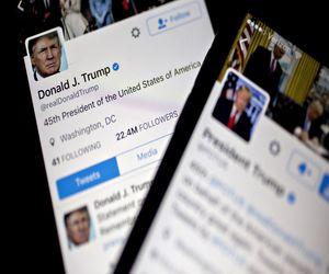 تويتر يحذر من 4 تغريدات لترامب بشأن فرز الأصوات