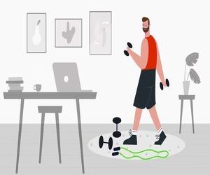 5 من أفضل التطبيقات لأداء التمارين الرياضية في المنز...