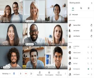 تطبيق Google Meet يدعم الآن التنبيه بزر رفع اليد في ...