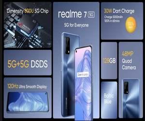 Realme 7 5G يأتي مع دعم 5G ...